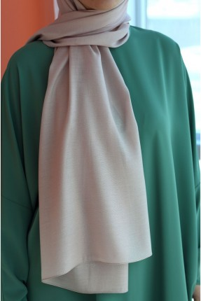 حجاب تركي مزين بستراس - زهري