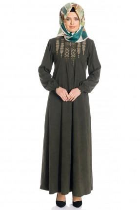 فستان سبور بتطريز - زيتي