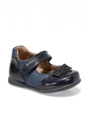 حذاء بيبي بناتي بشريط لاصق - كحلي