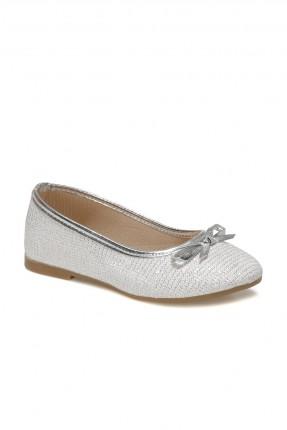 حذاء اطفال بناتي لامع - ابيض