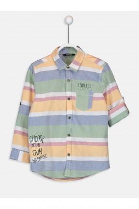 قميص اطفال ولادي ملون