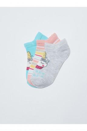 جوارب اطفال بناتي عدد 3