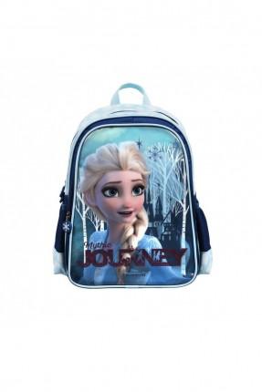 حقيبة ظهر اطفال بناتي مزينة برسمة ايلسا - كحلي