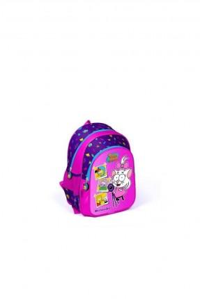 حقيبة ظهر اطفال بناتي مزينة برسمة كرال شاكير
