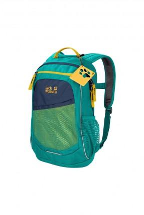 حقيبة ظهر اطفال بناتي مزينة بشبك - اخضر