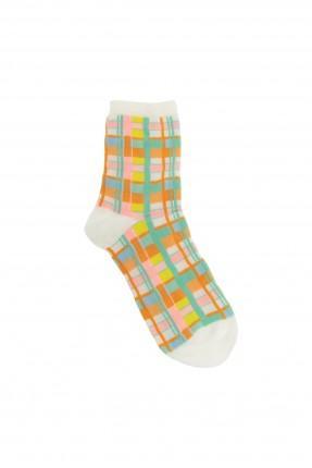 جوارب نسائية ملونة