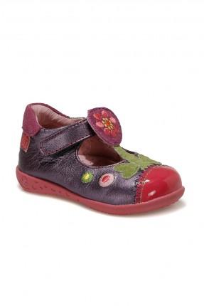 حذاء بيبي بناتي منقش