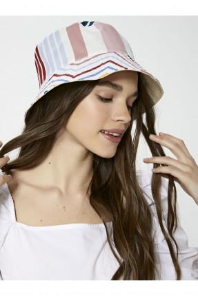 قبعة نسائية جبردين ملونة