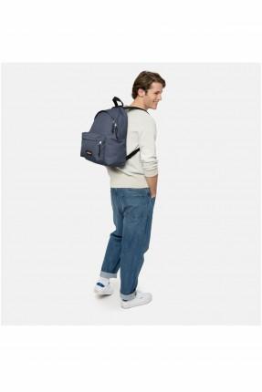 حقيبة ظهر نسائية بجيب بارز - كحلي
