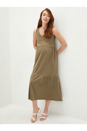 فستان حمل سادة اللون