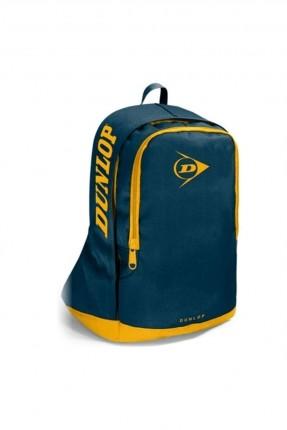حقيبة ظهر نسائية بكتابة على الجوانب - كحلي
