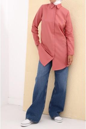 قميص نسائي سبور - وردي