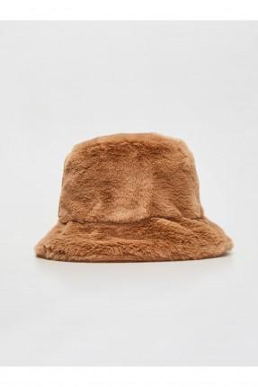 قبعة اطفال بناتي فرو