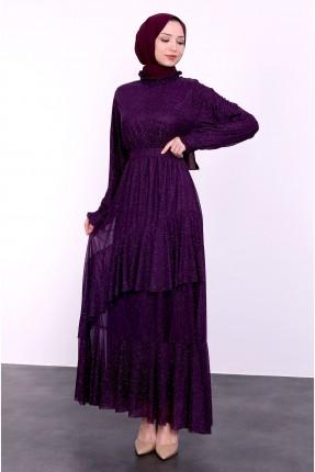 فستان رسمي - بنفسجي
