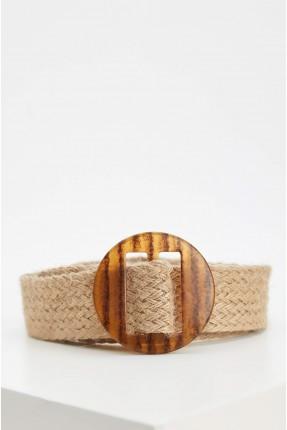 حزام نسائي قش - بيج