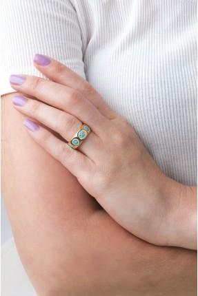 خاتم نسائي مزين بايموجي