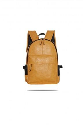 حقيبة ظهر رجالية - اصفر