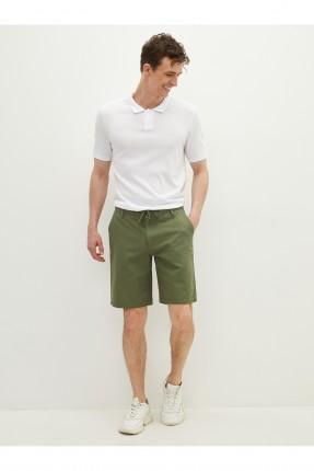 شورت رجالي سادة اللون - اخضر