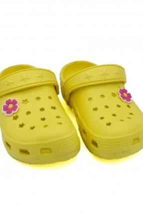 صندل اطفال بناتي - اصفر