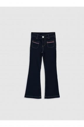 بنطال جينز اطفال بناتي بموديل اسباني