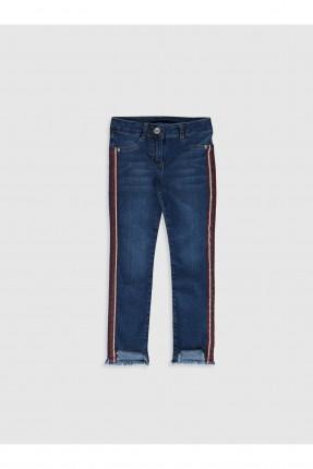 بنطال جينز اطفال بناتي سليم