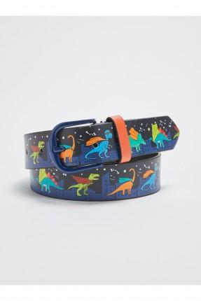 حزام اطفال ولادي برسمة ديناصورات