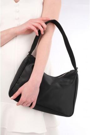 حقيبة يد نسائية سادة - اسود