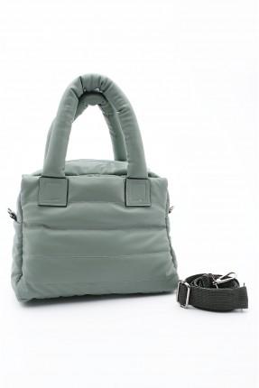 حقيبة يد نسائية سادة اللون - اخضر