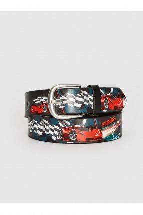 حزام اطفال ولادي برسمة سيارات