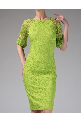 فستان نسائي رسمي مزين بفتحة على الظهر