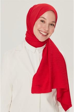 حجاب تركي سادة - احمر