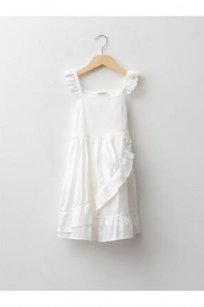فستان اطفال بناتي بكشكشة