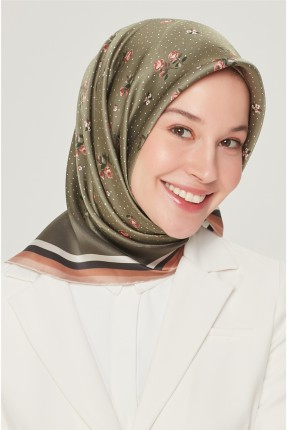حجاب تركي مزهر