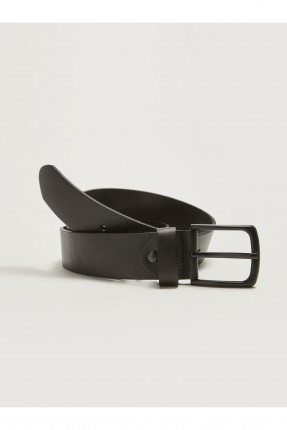 حزام رجالي كلاسيكي - اسود