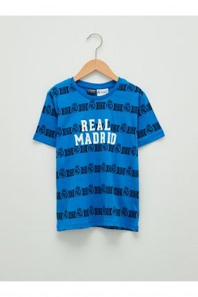 تيشرت اطفال ولادي بطبعة ريال مدريد