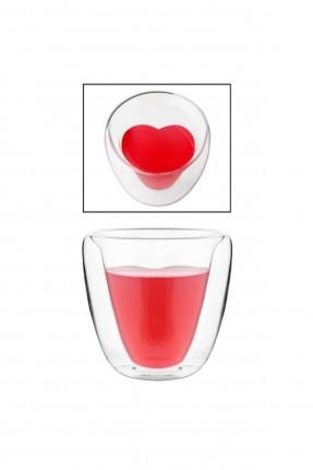 كأس زجاج مزدوج الجدران