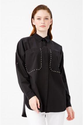 قميص نسائي سبور -اسود