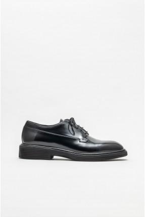 حذاء رجالي سادة لامع