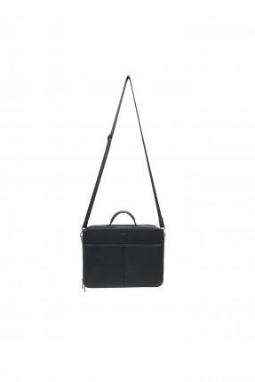 حقيبة يد رجالية مزينة بنقشة