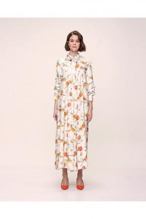 فستان نسائي مزهر