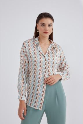 قميص نسائي اوفر سايز
