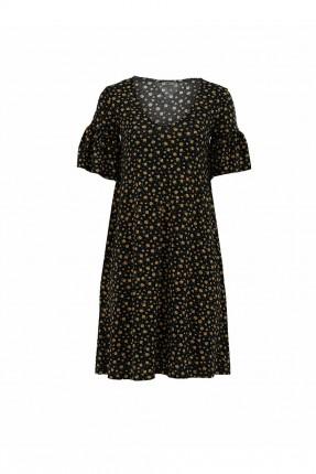 فستان مزين بنقش ازهار