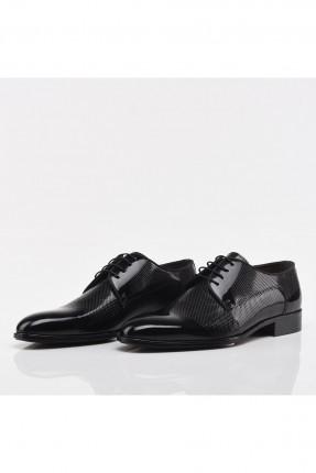 حذاء رجالي سادة بلمعة