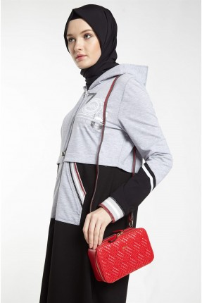 حقيبة يد نسائية مزخرفة - احمر