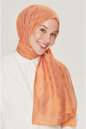 حجاب تركي مزين بزخرفة