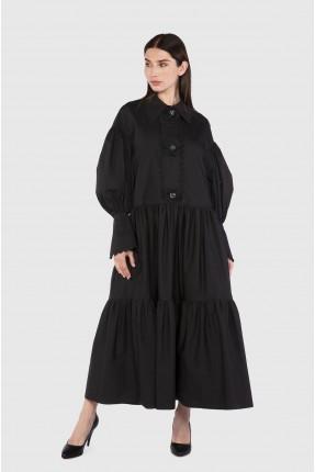 فستان سبور طويل سادة اللون