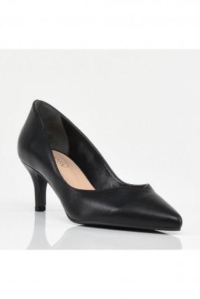 حذاء نسائي سادة - اسود