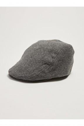 قبعة رجالية سادة اللون