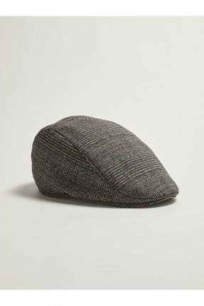 قبعة رجالية مزين بنقشة