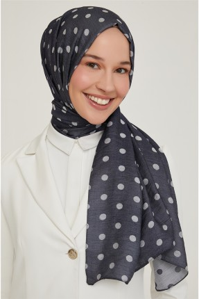 حجاب تركي مزين بنقاط